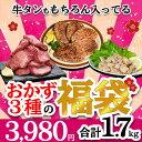 福袋 食品 2021 肉 焼肉セット 牛タン ハンバーグ ホルモン 惣菜 メガ盛り 2人 2人前 約 1kg 4人 から 5人 厚切り わ…
