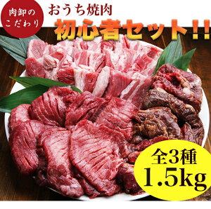 肉 福袋 焼肉 焼肉セット タン メガ盛り 2人 2人前 約 1kg 4人 から 5人 厚切り わけあり 訳あり パーティーセット カルビ ハラミ 小分け 冷凍食品 個包装 肉卸のこだわり★おうち焼肉初心者セ