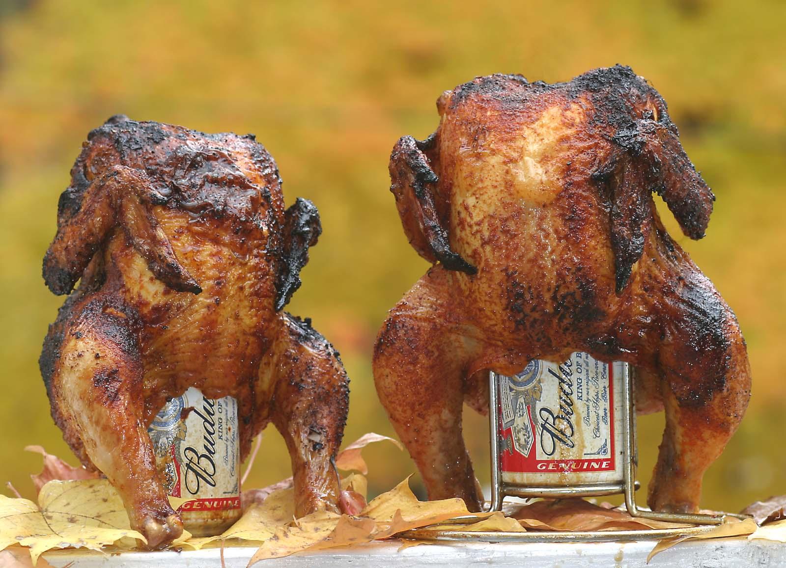 「送料無料」ビール缶チキンのスタンド & ビール缶チキンレシピ