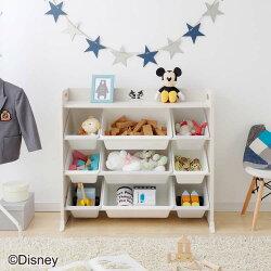 キッズラックラックディズニーDisneyミッキーマウス家具子供部屋収納収納おもちゃオモチャ整理お片付けかたづけ天板付キッズトイハウスラックミッキー&ミニーTKTHR-39アイリスオーヤマ