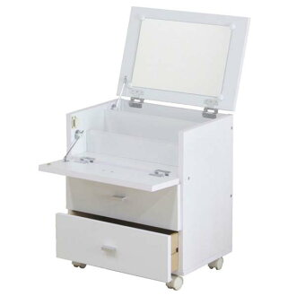 피고 드레서 화이트 FWK-4553 DR 81893 멋쟁이 코스메틱 콤팩트흰색 북유럽 인테리어 수납 방