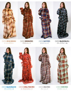 ルームウェアガウンバスローブもこもこ冬ルームウェアバスローブバスローブルームウェア【fondan】着る毛布Sサイズクリアグローブ