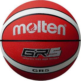 モルテン バスケットボール 5号球 レッド×ホワイト BGR5-RW