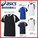 最大5000円引クーポン ジュニア用ベースボールシャツ 野球 アシックス Jr.半袖 2017 練習着 プラシャツ 少年野球 子…