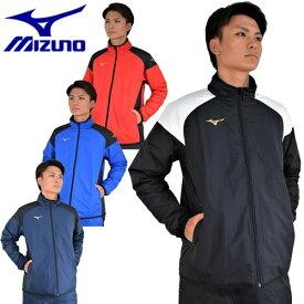 最大10%引クーポン ミズノ ジャケット ベーシックウォーマーシャツ 中綿入り 男女兼用 P2JE7501 アウター ウェア