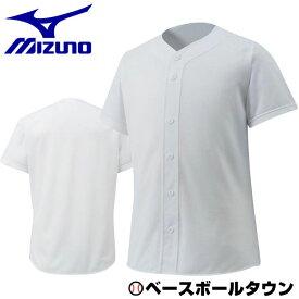 最大10%引クーポン 少年用ユニフォームシャツ 野球 ミズノ ジュニアシャツ・オープンタイプ メッシュ 取寄 12JC6F8801 野球ウェア