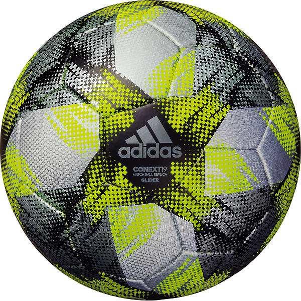最大10%引クーポン サッカーボール 4号球 検定球 アディダス adidas コネクト19 グライダー AF404SLBK