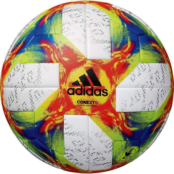 最大10%引クーポン サッカーボール 5号球 検定球 アディダス adidas コネクト19 試合球 AF500