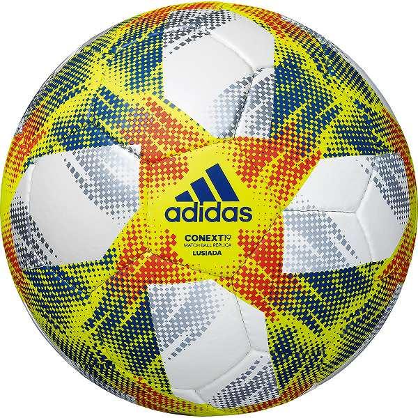 最大3000円引クーポン サッカーボール 5号球 検定球 アディダス adidas コネクト19 ルシアーダ AF502LU