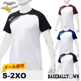 最大10%引クーポン ミズノプロ グラフィックTシャツ 半袖 大人 クルーネック オールシーズン ユニセックス 取寄 12JA0T04 野球ウェア