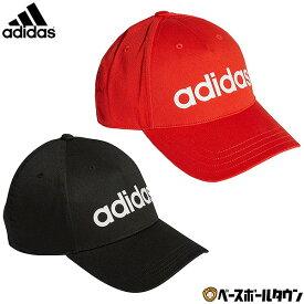 全品7%引クーポン アディダス デイリーリニアロゴキャップ FKP73 帽子 男女兼用 ユニセックス