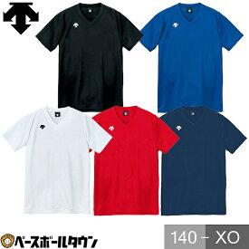 最大10%引クーポン デサント(DESCENTE) V首半袖ゲームシャツ(ユニセックス) DSS-4321 DSS-4321 バレー ゲームシャツ