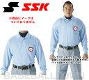 20%OFF SSK 野球用品 審判用長袖ポロシャツ UPW028