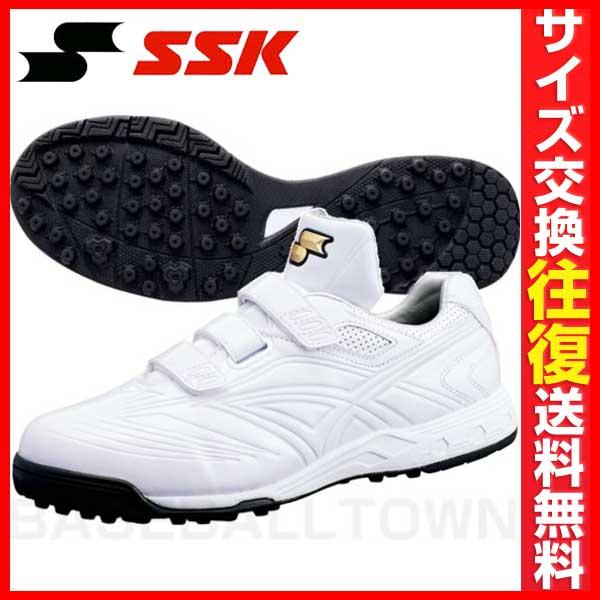 20%OFF 最大5000円引クーポン トレーニングシューズ SSK 野球 プレスターSG11 《22.0-30.0cm》ホワイト×ホワイト TRL553-1010 アップシューズ 靴 刺繍可(有料)