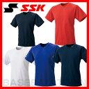 20%OFF 最大12%引クーポン SSK 野球用品 ジュニア用クルーネックTシャツ BT2250J 少年用 取寄
