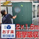 最大12%引クーポン テニス練習用「壁」ネット(硬式テニス・軟式テニス兼用) 省スペースで全力サーブOK! 2.0m×1.6m フィールドフォー ス 送料無料 ...