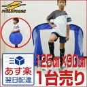 最大12%引クーポン 折りたたみサッカーゴール 1台 ミニサッカー・フットサル用(125cm×90cm) ペグ・専用バッグ付き …