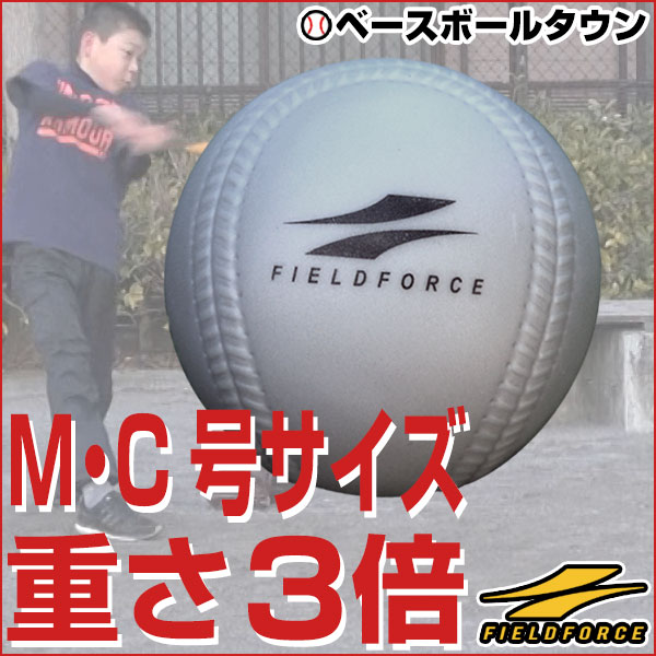 最大2500円OFFクーポン 野球 練習 アイアンサンドボール 軟式M・C号サイズ 重さ約3倍 インパクトパワーボール 打撃 バッティング 少年 ジュニア 子供 子ども FIMP-680 FIMP-720 フィールドフォース