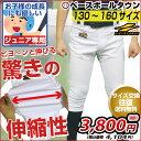 最大10%引クーポン 野球 ユニフォームパンツ ギガストレッチパンツ ジュニア用 練習着パンツ ショートフィット 両ヒ…