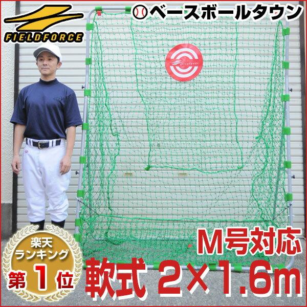 最大9%引クーポン 野球 練習 ネット 軟式用 2×1.6m ターゲット・固定用ペグ付き 打撃 バッティング 軟式野球 M号対応 FBN-2016N2 ラッピング不可 フィールドフォース