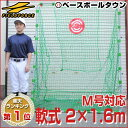 全品8%引クーポン 野球 練習 ネット 軟式用 2×1.6m ターゲット・固定用ペグ付き 打撃 バッティング 軟式野球 M号対…