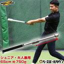 【あす楽】野球 練習 インパクトスウィングバット トレーニングバット ジュニア・一般兼用 65cm 本体約550g ウェイト…