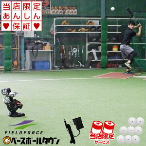 最大10%引クーポン 変化球対応バッティングマシン ACアダプター付き 専用ウレタンハードボール8球付 野球 練習 バッティング練習用マシン 野球練習用品 打撃練習 FPM-152PU FACAD-100 フィールド