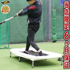 送料無料 最大10%引クーポン 野球 バッター用トランポリン 打撃練習専用 一般・ジュニア兼用 6ヶ月保証付き 体幹 下半身強化 FBTP-1480 ラッピング不可 フィールドフォース