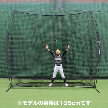 最大10%引クーポン野球練習ネット硬式軟式M号・J号ソフトボール対応3m×3mビッグネット専用収納ケース付き打撃バッティングFBN-3030フィールドフォースラッピング不可