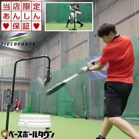 【あす楽】野球 練習 スウィングパートナー・バックスピン 硬式・軟式M号・J号対応 打撃 バッティング 硬式野球 軟式野球 FBST-301 フィールドフォース 当店限定6ヶ月保証 トレーニング