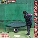 2千円引クーポン 野球 練習 ボール拾い・パートナー不要 フロント・トスマシン&専用ネットセット 前からトスマシン …