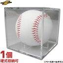 最大10%引クーポン 野球 サインボールケース ボール別売り 硬式野球ボール対応 卒団 卒業 記念品 記念グッズ 寄せ書き…