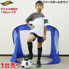 10%引クーポン サッカー ゴール 折りたたみサッカーゴール 1台 ミニサッカー・フットサル用 125cm×90cm ペグ・専用バッグ付き フットサルゴール FSG-125A フィールドフォース