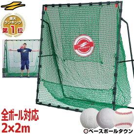 最大10%引クーポン 野球 練習 ネット 硬式 軟式M号・J号 ソフトボール対応 2m×2m 専用バッグ・ターゲット付き 打撃 バッティング FBN-2020H2 フィールドフォース ラッピング不可