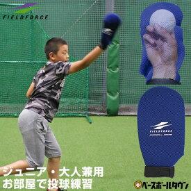 野球 投球練習用 シャドースロー ボール別売り ジュニア・一般兼用 シャドーピッチング フォームチェック スナップ スローイング メール便可 FAP-720BL フィールドフォース