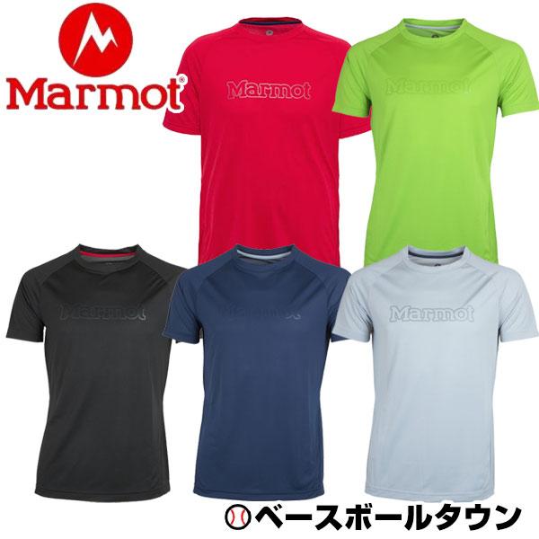 全品7%OFFクーポン マーモット 半袖Tシャツ アセントハーフスリーブティー ACCENT H/S T MJT-S7076 メンズ アウトドアウェア キャンプ