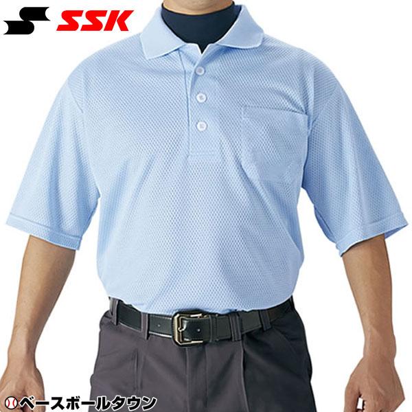 20%OFF 最大10%引クーポン SSK 審判用品 野球 審判用半袖ポロシャツ UPW027 野球ウェア 取寄