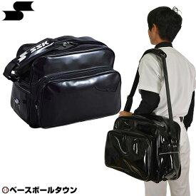 最大10%引クーポン バッグ刺繍可(有料) SSK ショルダーバッグ ブラック×ブラック BA8000