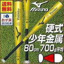20%OFF 最大6%引クーポン バット 野球 硬式 金属 ミドルバランス 80cm 700g平均 ミズノ ゴールド ビクトリーステージ Vコング02 ジュニア...
