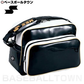 20%OFF 最大10%引クーポン バッグ刺繍可(有料) SSK ショルダーバッグ ブラック×ゴールド BA8000