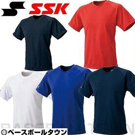 最大千円引クーポン SSK 野球 ジュニア用クルーネックTシャツ BT2250J 少年用 野球ウェア 取寄 メール便可