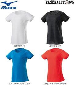 最大10%引クーポン ミズノ ジャカードTシャツ レディース J2MA9215 ランニング ウエア ランニングシャツ
