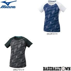 最大10%引クーポン ミズノ ランニングTシャツ レディース J2MA9701 ランニング ウエア ランニングシャツ