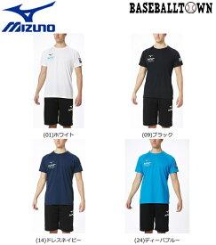 【1/28(木)以降発送予定】最大10%引クーポン ミズノ N-XT Tシャツ 男女兼用 32JA0215 トレーニングウエア N-XT Tシャツ/ポロシャツ