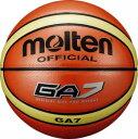 モルテン バスケットボール 7号球 インドア・アウトドア対応 オレンジ BGA7