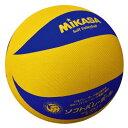 30%OFF 最大12%引クーポン バレーボール ソフトバレーボール ミカサ カラーソフトバレーボール 小学校1〜6年生用 黄/青 MS-M64H 取寄