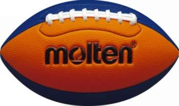 3240円で送料無料 20%OFF 最大12%引クーポン モルテン フラッグフットボールミニ 小学生用 オレンジ×ブルー Q3C2500-OB