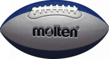 20%OFF モルテン フラッグフットボールジュニア シルバー×ブルー Q4C2500-SB 少年用