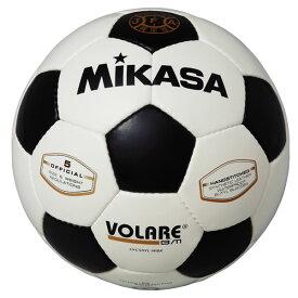 最大10%引クーポン サッカーボール ミカサ 5号 検定球 手縫い 亀甲型 白/黒 SVC50VL-WBK