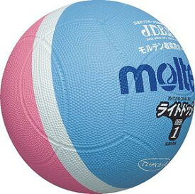 20%OFF モルテン ドッジボール ライトドッジ 1号球 サックス×ピンク 小学校低学年用 SLD1PSK 取寄